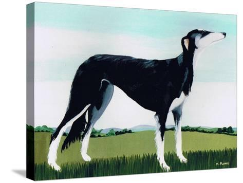 Saluki Cross, 1991-Maggie Rowe-Stretched Canvas Print