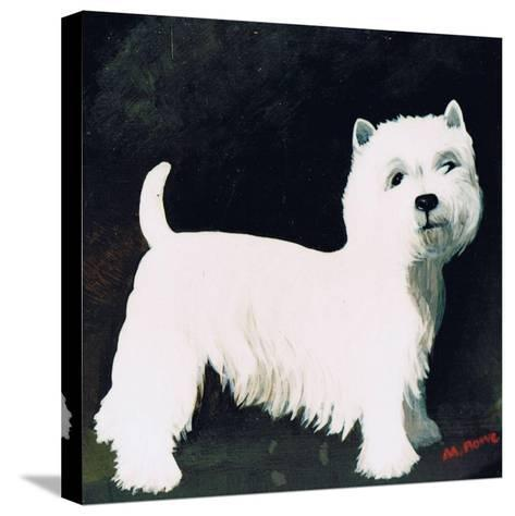 Westie, 1991-Maggie Rowe-Stretched Canvas Print