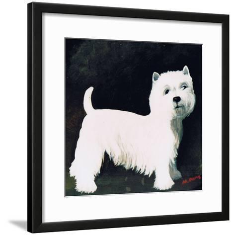 Westie, 1991-Maggie Rowe-Framed Art Print