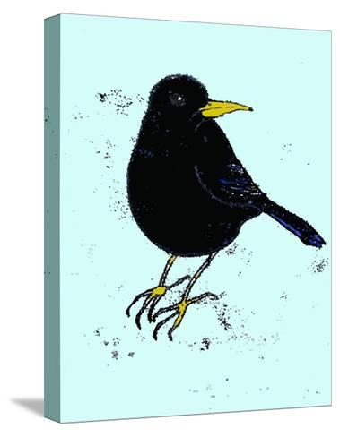 Blackbird, 2009-Sarah Thompson-Engels-Stretched Canvas Print