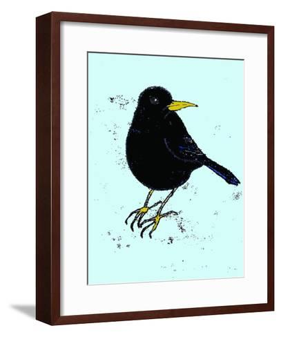 Blackbird, 2009-Sarah Thompson-Engels-Framed Art Print