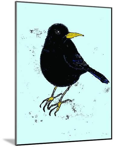 Blackbird, 2009-Sarah Thompson-Engels-Mounted Giclee Print