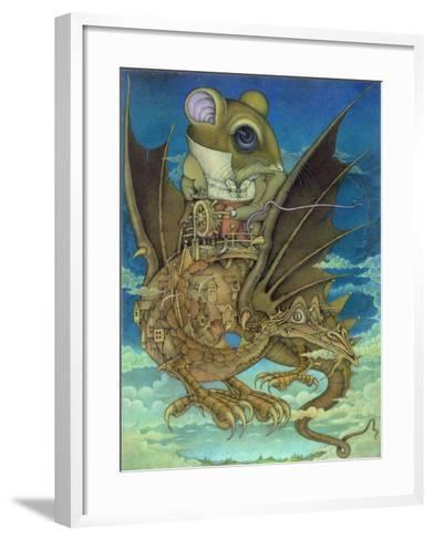 The Earth Grew Near, 1983-Wayne Anderson-Framed Art Print