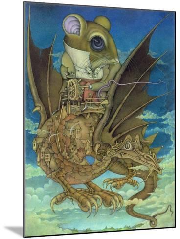 The Earth Grew Near, 1983-Wayne Anderson-Mounted Giclee Print