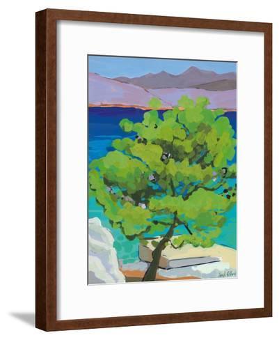 Pine Tree, 2010-Sarah Gillard-Framed Art Print
