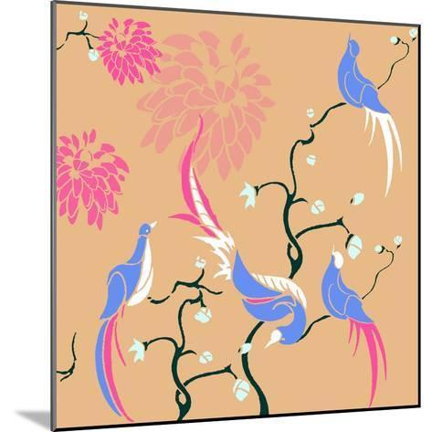 Blossom Birds-Anna Platts-Mounted Giclee Print