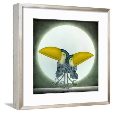 Toucan Can Can, 2010-Wayne Anderson-Framed Art Print