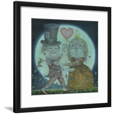 By the Light of the Silvery Moon, 2010-Wayne Anderson-Framed Art Print