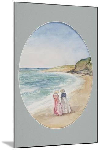 Anne and Henrietta Stroll Down to the Sea, 2006-Caroline Hervey-Bathurst-Mounted Giclee Print