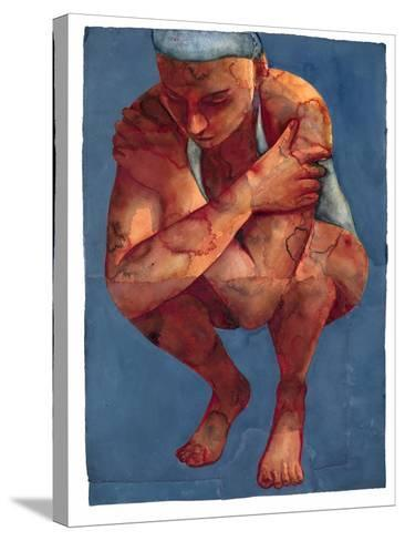 Small Swimmer 3, 2011-Graham Dean-Stretched Canvas Print