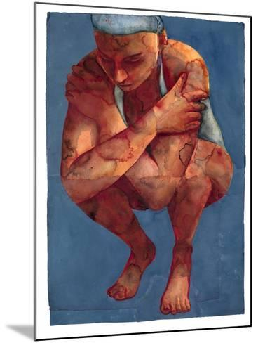 Small Swimmer 3, 2011-Graham Dean-Mounted Giclee Print