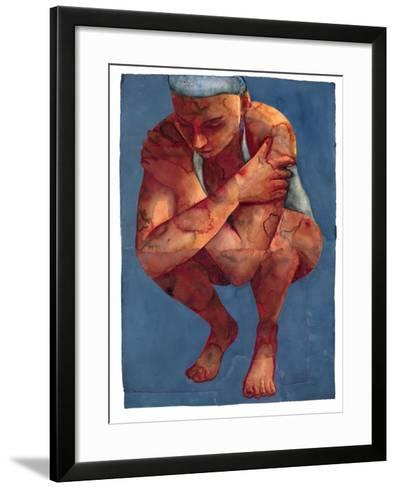 Small Swimmer 3, 2011-Graham Dean-Framed Art Print