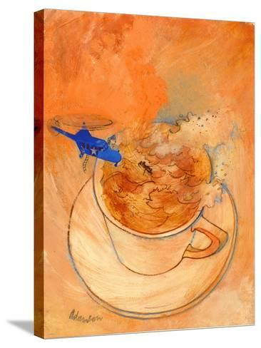 Storm in a Teacup, 1970s-George Adamson-Stretched Canvas Print