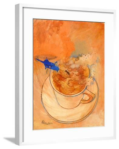 Storm in a Teacup, 1970s-George Adamson-Framed Art Print