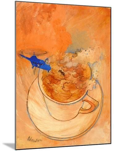 Storm in a Teacup, 1970s-George Adamson-Mounted Giclee Print