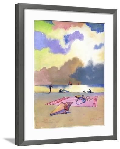 Summer Evening, 1980s-George Adamson-Framed Art Print