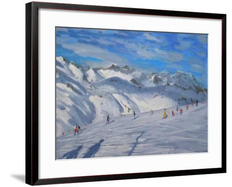 Mountain Tops, Tignes, 2009-Andrew Macara-Framed Art Print