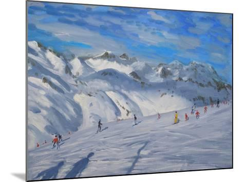 Mountain Tops, Tignes, 2009-Andrew Macara-Mounted Giclee Print