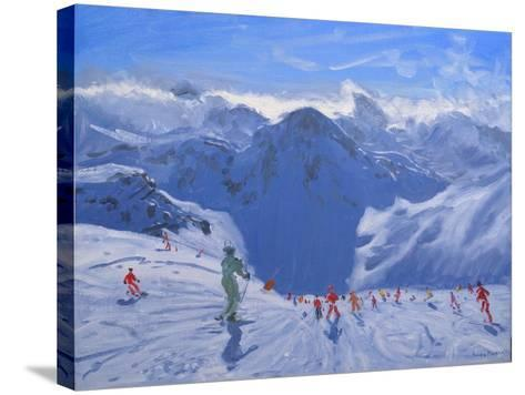 Mountain Shadow, 2009-Andrew Macara-Stretched Canvas Print