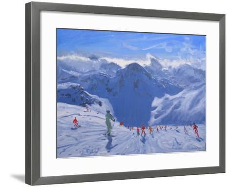 Mountain Shadow, 2009-Andrew Macara-Framed Art Print
