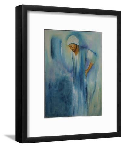 Holy Spirit,Jesus Christ, from Death to Life, 2009-Stevie Taylor-Framed Art Print