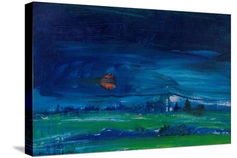 Evening Landscape-Brenda Brin Booker-Stretched Canvas Print
