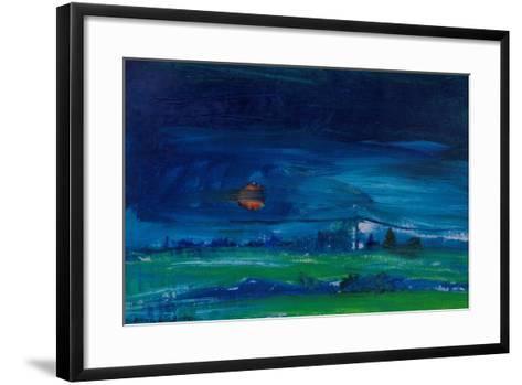 Evening Landscape-Brenda Brin Booker-Framed Art Print