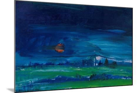 Evening Landscape-Brenda Brin Booker-Mounted Giclee Print