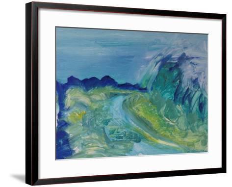 Blue River Landscape I, 1988-Brenda Brin Booker-Framed Art Print