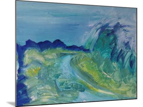 Blue River Landscape I, 1988-Brenda Brin Booker-Mounted Giclee Print