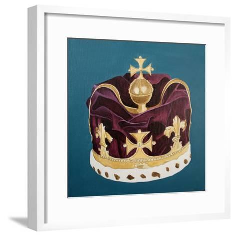 Crown Jewels, 2001-Cathy Lomax-Framed Art Print