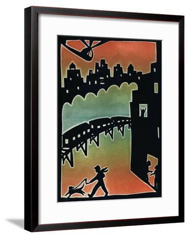Subway, 1996-Beatrice Coron-Framed Art Print