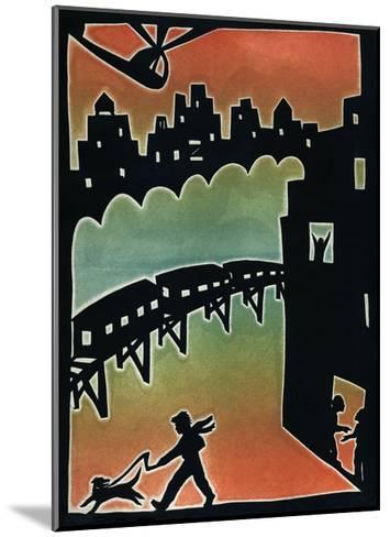 Subway, 1996-Beatrice Coron-Mounted Giclee Print