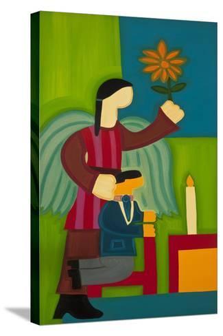 Jose Maria Y Su Angel, 2009-Cristina Rodriguez-Stretched Canvas Print