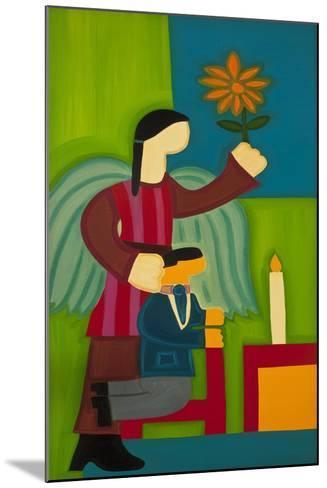 Jose Maria Y Su Angel, 2009-Cristina Rodriguez-Mounted Giclee Print