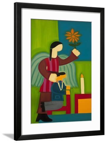 Jose Maria Y Su Angel, 2009-Cristina Rodriguez-Framed Art Print