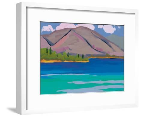 Mountain and Pines, 2010-Sarah Gillard-Framed Art Print