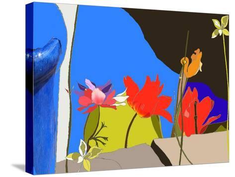 Dad's Garden-Anna Platts-Stretched Canvas Print