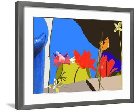 Dad's Garden-Anna Platts-Framed Art Print