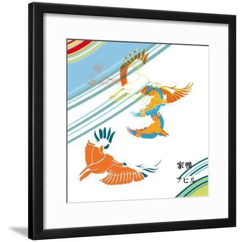 Ibis-Anna Platts-Framed Art Print