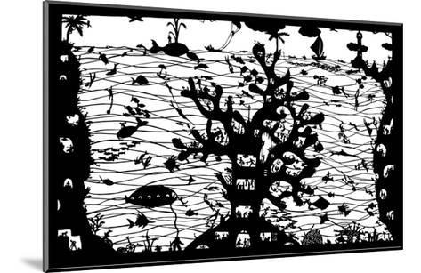 Reef City, 2009-Beatrice Coron-Mounted Giclee Print