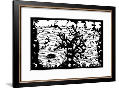 Reef City, 2009-Beatrice Coron-Framed Art Print