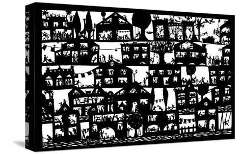 Village City, 2005-Beatrice Coron-Stretched Canvas Print