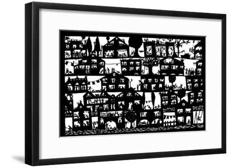 Village City, 2005-Beatrice Coron-Framed Art Print