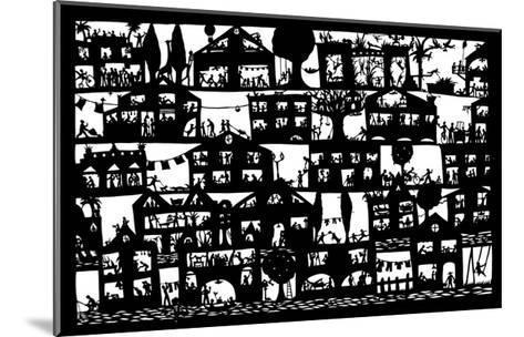 Village City, 2005-Beatrice Coron-Mounted Giclee Print