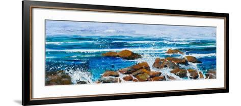 Coastal Encounter-Margaret Coxall-Framed Art Print