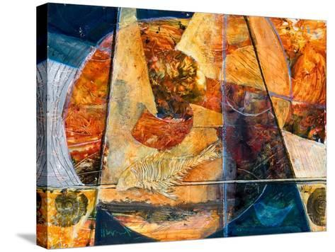 Ancient Oceans-Margaret Coxall-Stretched Canvas Print