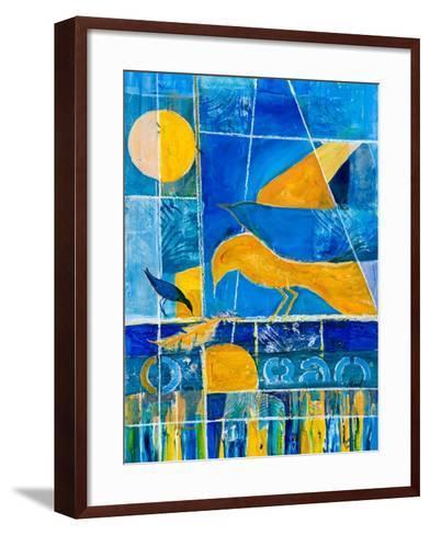 Blue Horizons-Margaret Coxall-Framed Art Print
