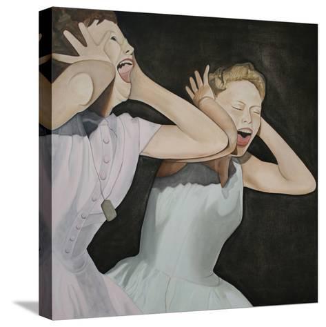 Shang-A-Lang, 2003-Cathy Lomax-Stretched Canvas Print