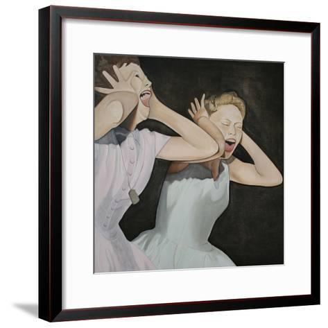 Shang-A-Lang, 2003-Cathy Lomax-Framed Art Print